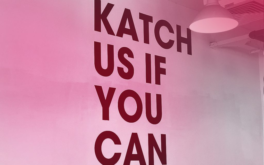 Katch us if you can image