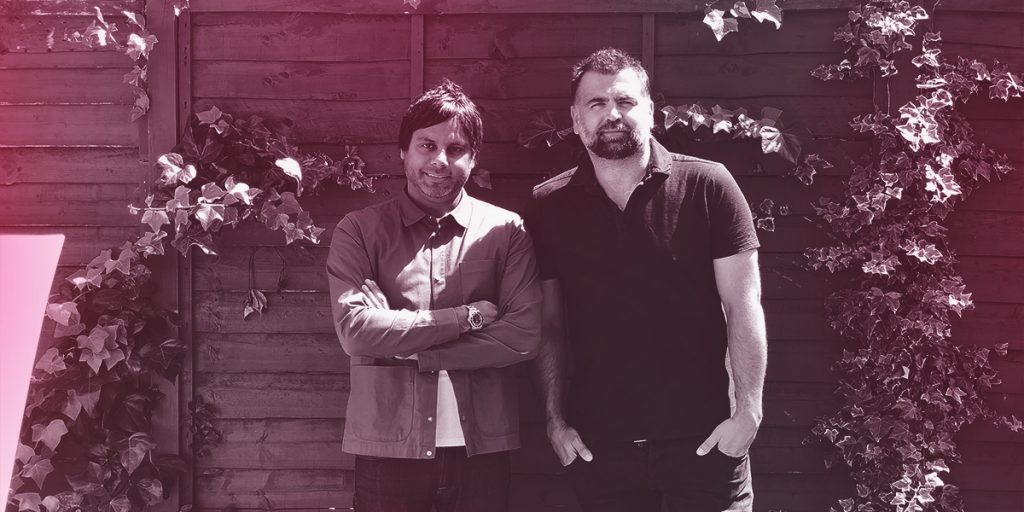 Celebrity Cookalong Founders: Christopher Mair and Rick Kumar