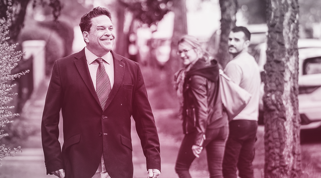 Katch Dom Joly Getting People Back To Business With XLN…. With No Trousers!